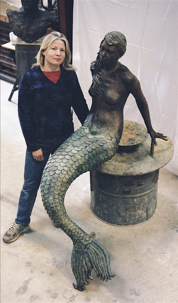 Elisabeth with Mermaid